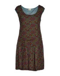 Siyu   Black Short Dress   Lyst