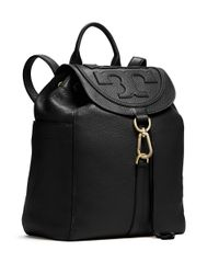 Tory Burch - Black All-t Backpack - Lyst