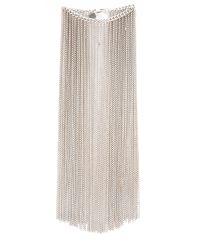 Nina Ricci | Metallic Fringe Bracelet - Silver | Lyst
