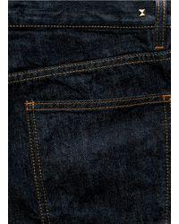 Valentino - Blue Slim Fit Jeans for Men - Lyst