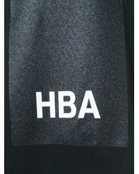 Hood By Air - Black Logo Print T-shirt for Men - Lyst