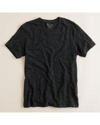 J.Crew | Gray Field Knit V-neck T-shirt for Men | Lyst
