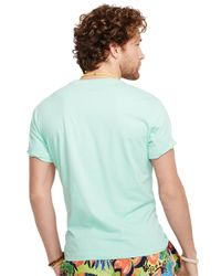 Polo Ralph Lauren | Green Jersey Crewneck T-Shirt for Men | Lyst