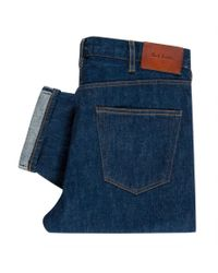 Paul Smith | Men's Classic-fit Prussian Blue Jeans for Men | Lyst