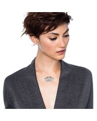 Lulu Frost | Metallic Larkspur Pendant - Silver | Lyst