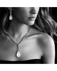 David Yurman | Purple Anjou Drop Earrings With Diamonds | Lyst