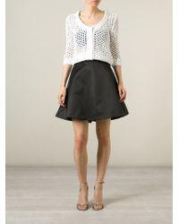 Ermanno Scervino - White Crochet Cardigan - Lyst