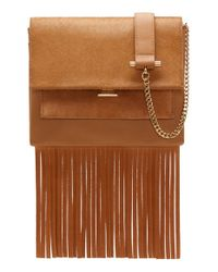 Vince Camuto | Brown 'amele' Crossbody Bag | Lyst