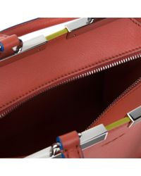 Fendi - Red 3Jours Leather Bag - Lyst
