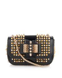 Christian Louboutin - Black Sweety Charity Mini Leather Shoulder Bag - Lyst