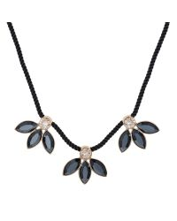 Aurora | Metallic Petal Necklace | Lyst