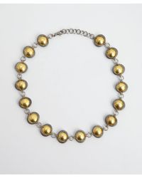 Gurhan | Metallic Silver and Gold Tulip Necklace | Lyst