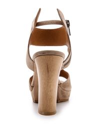 Coclico | Brown Free Platform Sandals - Bambi | Lyst
