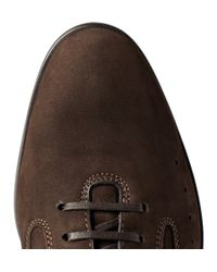 John Lobb - Brown Winner Suede Sneakers for Men - Lyst