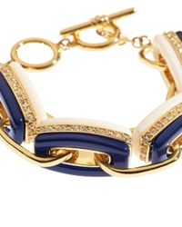 Brooks Brothers | Blue Link Bracelet | Lyst