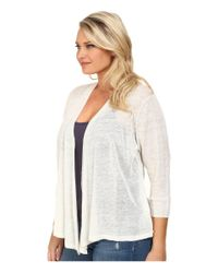 NIC+ZOE | Natural Plus Size 4-way Cardy | Lyst