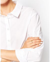 Pieces | Metallic & Julie Sandlau Gold Plated Jen Star Ring | Lyst