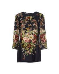Dolce & Gabbana - Black Blouse - Lyst