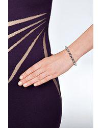 Eddie Borgo | Metallic Small Cone Bracelet In Silver | Lyst