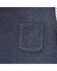 Stella McCartney | Blue Basil Striped T-Shirt | Lyst