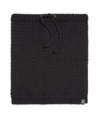 Bickley + Mitchell | Black Faux Sherpa-lined Woven Snood for Men | Lyst