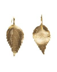 Aurelie Bidermann | Metallic 'central Park' Earrings | Lyst