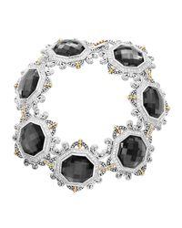 Lagos | Metallic Empress Hematite Doublet Bracelet | Lyst