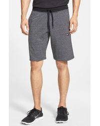 Nike - Gray 'aw77 Alumni' French Terry Knit Shorts for Men - Lyst