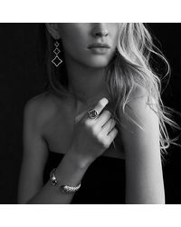 David Yurman | Metallic Waverly Bracelet, 7mm | Lyst