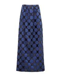 N°21 - Blue Gisella Skirt - Lyst