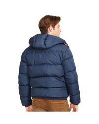 Polo Ralph Lauren | Blue Quilted Down Coat for Men | Lyst