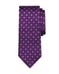 Brooks Brothers | Purple Shadow Box Tie for Men | Lyst