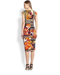 Jean Paul Gaultier | Multicolor Floral Patchwork-print Dress | Lyst
