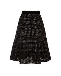 Mary Katrantzou | Black Avon Skirt | Lyst