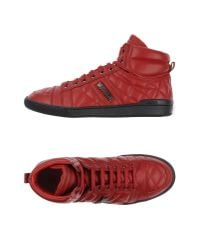 Moschino | Red High-tops & Trainers for Men | Lyst