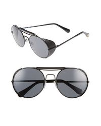 Ill.i by Will.i.am - Black 'wa508s' 55mm Sunglasses - Lyst