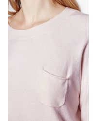 French Connection | Pink Clacton Vhari Jumper | Lyst
