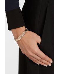 Eddie Borgo - Metallic Peaked Link Gold-plated Bracelet - Lyst