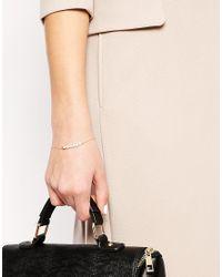 Stella & Bow | Metallic Agnes Pearl Bracelet | Lyst
