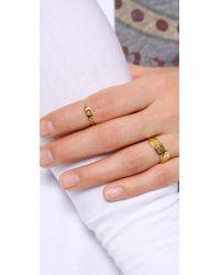 Gorjana - Metallic Cutout Heart Ring - Lyst