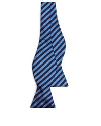 Brooks Brothers | Blue Bb#5 Repp Bow Tie for Men | Lyst