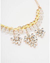 Coast | Metallic Open Wire Necklace | Lyst