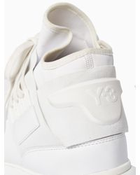 Y-3 | White Qasa High Sneakers for Men | Lyst
