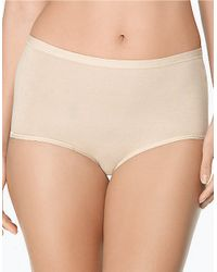 Wacoal | Natural Bfitting Brief | Lyst