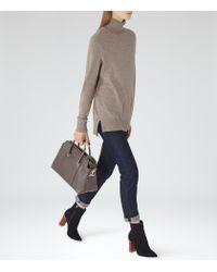 Reiss | Brown Rembi Cashmere-blend Jumper | Lyst