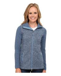 The North Face | Blue Indi Insulated Hoodie | Lyst