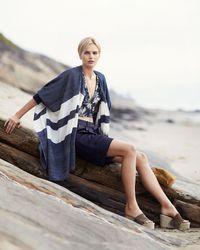 Rag & Bone - Blue Sally Fluid Shorts - Lyst