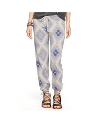 Denim & Supply Ralph Lauren - Blue Geometric Jersey Sweatpant - Lyst