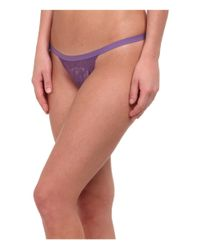 Cosabella - Purple Never Say Never Skimpie G-string - Lyst