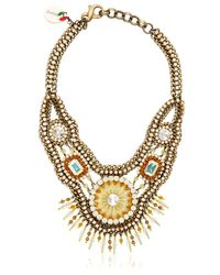 Sveva Collection | Green Elettra Necklace | Lyst